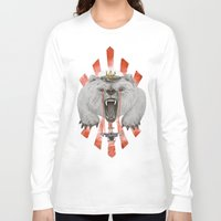 power Long Sleeve T-shirts featuring Power by Ruta13