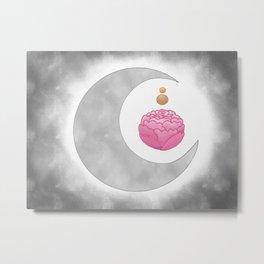 lunar bloom. Metal Print