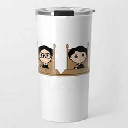 THE SUPREMES Supreme Court Justices cute Travel Mug