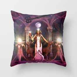 Keeper of the Flame- HEKATE Throw Pillow