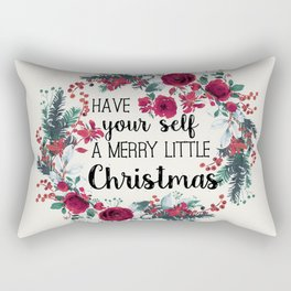 Happy Holidays 2 Rectangular Pillow