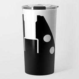 Millennium Falcon - Black Travel Mug