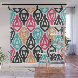 Beautiful bright, juicy abstract ornament. Wall Mural
