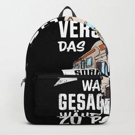 Lustiges Geschenk Wohnmobil Besitzer Backpack