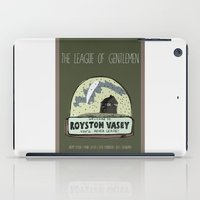 league iPad Cases featuring The League of Gentlemen by LiseRichardson