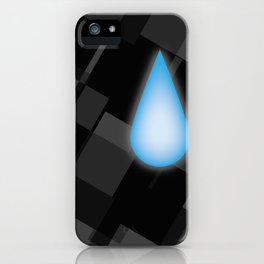 Lonely Tear iPhone Case