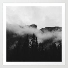 Castle Mountain Art Print