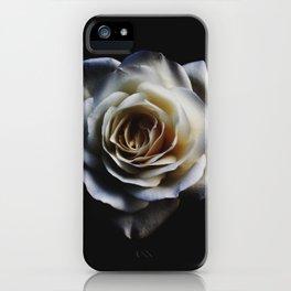 WHITE - ROSE - NATURE iPhone Case