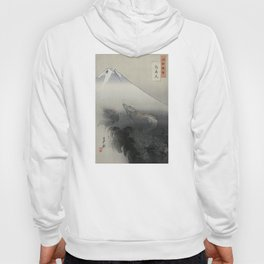 Dragon Rising to the Heavens at Mount Fuji by Ogata Gekko Hoody