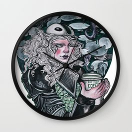 Lady Knight Wall Clock