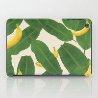 banana iPad Cases featuring banana by aisyrahma