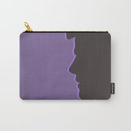 Castiel / Misha Collins Supernatural (Silhouette Collection) Carry-All Pouch