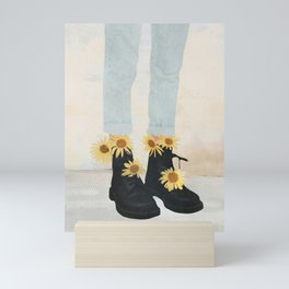 My Boots Mini Art Print