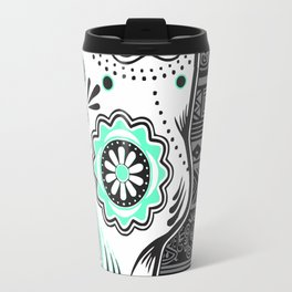 calavera mexicana Travel Mug