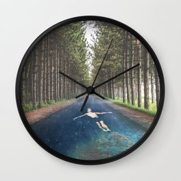 FORREST RIVER Wall Clock