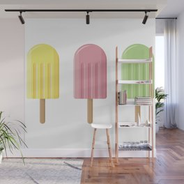 Refreshing Popsicle Wall Mural