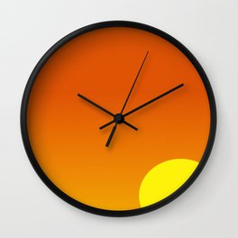 Tropical Sunset #101 Wall Clock