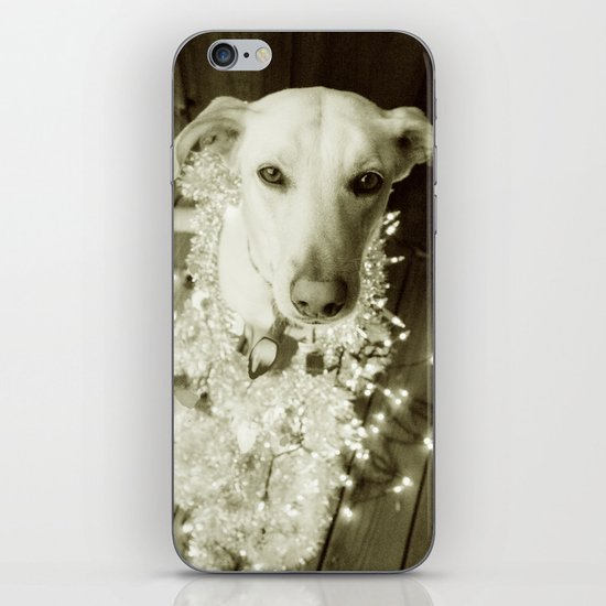 It's Beginning to Look a Lot Like Christmas B&W iPhone & iPod Skin