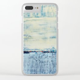 Simon Carter Painting Don't Take It Out On Me Clear iPhone Case