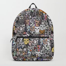 Gemstone Cats Gold Backpack