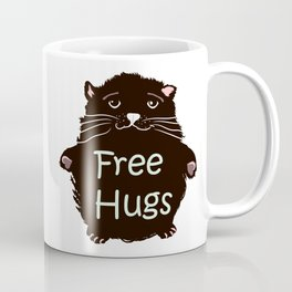 Free hugs. Cute kitty Coffee Mug