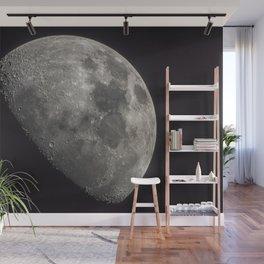 Waxing Gibbous Moon Wall Mural