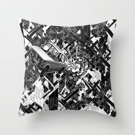 New Car Throw Pillow