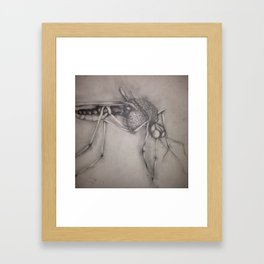 drink me Framed Art Print