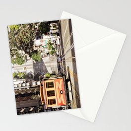 California Street Cable Car San Francisco Stationery Cards