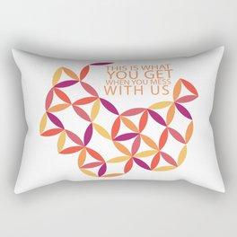 Karma Police Rectangular Pillow