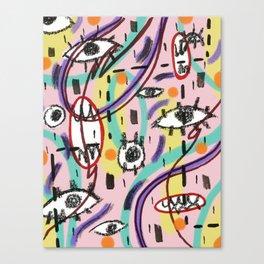 EyesEyesBaby Canvas Print