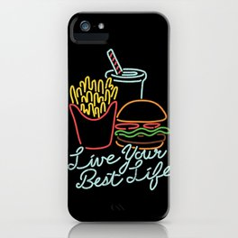 Live Your Best Life iPhone Case