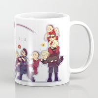 pacific rim Mugs featuring Pacific Rim by magemg