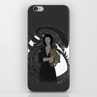 xenomorph iPhone & iPod Skins featuring Alien by Vaahlkult