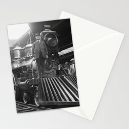 William Crooks 4-4-0 Steam Locomotive Stationery Cards