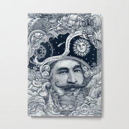 Baron von Munchausen Metal Print