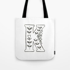 k is for Tote Bag