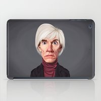 celebrity iPad Cases featuring Celebrity Sunday ~ Andy Warhola by rob art | illustration