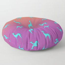 Greyhound Floor Pillow