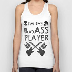 BadASS Player Unisex Tank Top