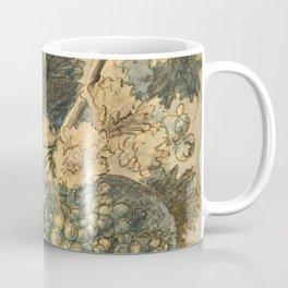 "Jan van Huysum ""Still life with flowers and fruits"" (drawing) Coffee Mug"