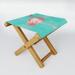 Flamingo Bird Folding Stool
