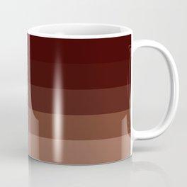 Brown Stripes Coffee Mug