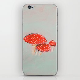 Spotted Mushrooms iPhone Skin