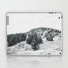 MONTANA BEAUTY in the BLACK & WHITE Laptop & iPad Skin