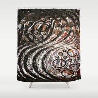 glass Shower Curtains featuring Glass by KunstFabrik_StaticMovement Manu Jobst