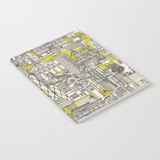 Hong Kong toile de jouy chartreuse Notebook