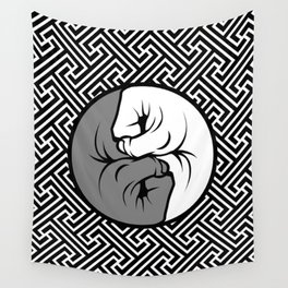 Way of the Fist Wall Tapestry