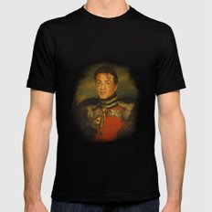 Sylvester Stallone - replaceface Mens Fitted Tee X-LARGE Black