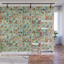 Retro seasons 03, Spring vibes Wall Mural